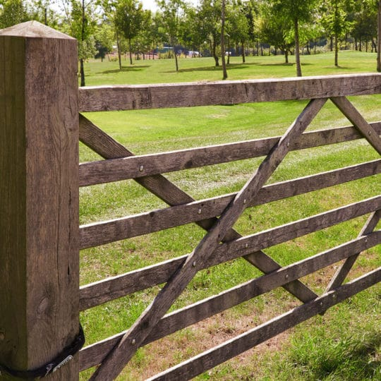 Wooden-farm-gate